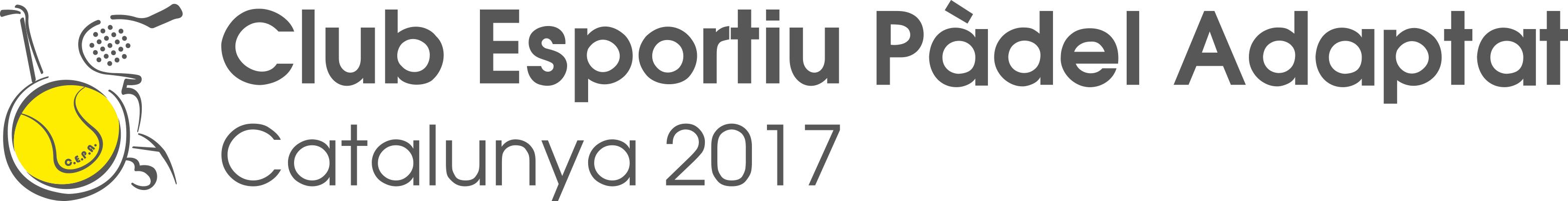 Club Esportiu Pàdel Adaptat Catalunya 2017
